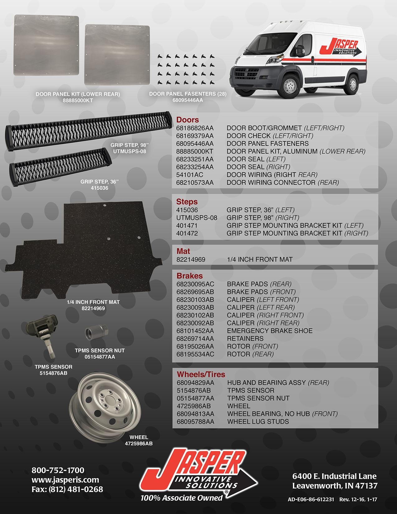 Ram Promaster – Dodge Ram Rear Door Wiring Connectors